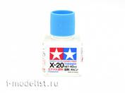 80030 Tamiya X-20 Enamel Thinner (Растворитель для эмали) 40 мл.