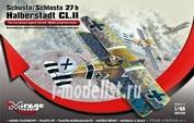 481308 Mirage Hobby 1/48 Schusta/Schlasta 27 b Halberstadt CL.II (Two-seat ground support aircraft / Middle production batch )