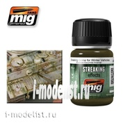 AMIG1205 Ammo Mig STREAKING GRIME FOR WINTER VEHICLES (Streaks of mud for the winter)