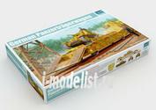 01508 Trumpeter 1/35 Немецкая Жд платформа с танком Pz.Kpfw.38(t)