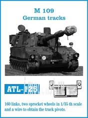 Atl-35-125 Friulmodel 1/35 M109 German tracks