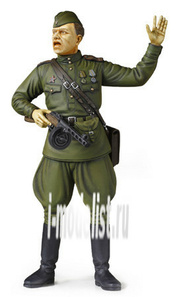 36314 Tamiya 1/16 Советский полевой командир с автоматом ППШ
