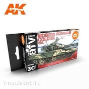 AK11662 AK Interactive Paint set