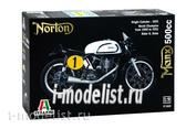 4602 Italeri 1/9 Norton Manx 500cc Motorcycle 1951