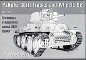 35005 Макет 1/35 Гусеницы и подвеска танка 38(t) Прага