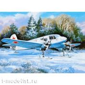 72181 Amodel 1/72 Яковлев Як-6М на лыжном шасси