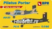 BPK14404 BPK 1/144 AU-23 and PC-6
