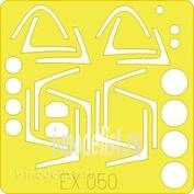 EX050 Eduard 1/48 Маска для JAS-39 Gripen