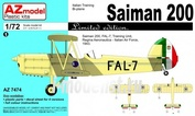AZ7474 Azmodel 1/72 Saiman 200