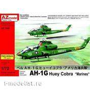 AZ7449 AZ Model 1/72 Самолет AH-1G Huey Cobra