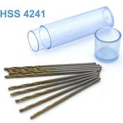 42271 JAS Мини-сверло HSS 4241 титановое покрытие d 1,2 мм 10 шт.