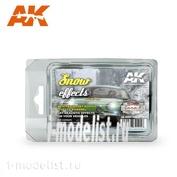 AK8091 AK Interactive Набор SNOW EFFECTS (RALLY SET) (набор для создания эффекта снега)