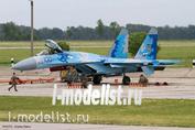 02166 Hasegawa 1/72 Su-27 Flanker Ukrainian Air Force Digi Camo Limited Edition