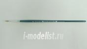 51203 Italeri Кисть круглая, синтетическая, 0