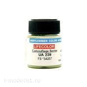 UA239 LifeColor Краска акриловая 4BO VAR. FS *34257