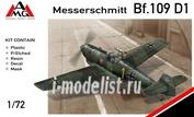 72409 AMG Models 1/72 Самолет Messerschmitt Bf.109D-1