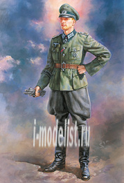 36315 Tamiya 1/16 Немецкий офицер (в комплекте декали со знаками различия)