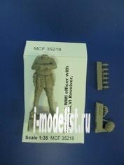 MCF35218 MasterClub 1/35 Французский офицер с револьверном Webley Mk.VI . Первая Мировая Война