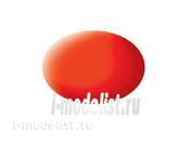 36125 Revell Аква- краска светящаяся оранжевая матовая