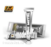 AK460 AK Interactive Wax paint TRUE METAL BRASS (