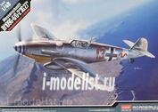 12321 Academy 1/48 Cамолет Messerschmitt Bf109G-6/G-2