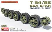 37033 MiniArt 1/35 roller Set for T-34/85 (Zvezdafish)