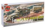2318 Airfix 1/76 White Half Track M3A1