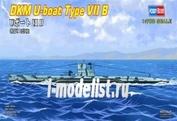 87008 HobbyBoss 1/700 German U-boat Type Ⅶ B