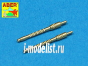 A48 006 Aber 1/48 Set of 2 barrels for German 13mm aircraft machine guns Mg 131 (middle type)