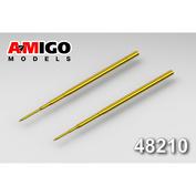 AMG48210 Amigo Models 1/48 Air Pressure Receiver / LDPE for Aircraft