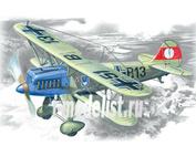 72193 ICM 1/72 Германский истребитель-биплан He-51 A-1