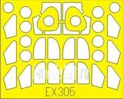EX305 Eduard 1/48 Маска для PC-6/AU-23A