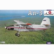 1440 Amodel 1/144 Antonov An-3 Aircraft