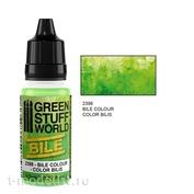 2398 Green Stuff World Краска цвет Эффект желчи 17 мл / Bile Effect