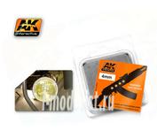 AK-217 AK Interactive Линзы прозрачные желтые AMBER 4mm
