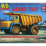 1508AVD AVD Models 1/43 Карьерный самосвал БЕЛАЗ-7547