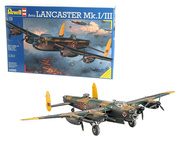 04300 Revell 1/72 Самолёт Avro Lancaster Mk.I/III