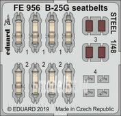 FE956 Eduard 1/48 Фототравление B-25G стальные ремни