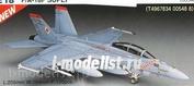 00548 Hasegawa 1/72 Cамолет F/A-18F Super Hornet