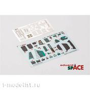3DL48001 Eduard 1/48 3D Декаль для Mi-24V SPACE и стальные ремни