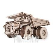 1-02 EWA Коллекционная механическая модель из древесины БЕЛАЗ 75600