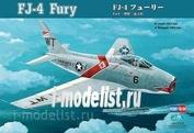 80312 HobbyBoss 1/48 Aircraft FJ-4 Fury