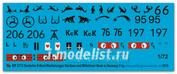 ep 2773 Peddinghaus-decals 1/72 Декаль german S-Boot markings Nordsea and Mittelmeer