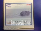35122X Hobby-Planet 1/35 Башня танка Т-44, Т-44М тип 3