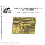 F72183 SG Modeling 1/72 KV-220 Detailing Kit (FTD)