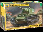 3539 Звезда 1/35 Советский тяжелый танк КВ-1