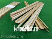 5131 Sbmodel Reiki 1x6 mm, length 300 mm, 50 PCs, pine
