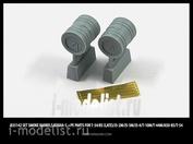 35142 Miniarm 1/35 Набор дымовых шашек БДШа-5, включает фототравление