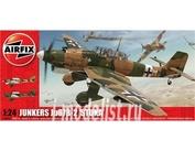 18002 Airfix 1/24 Самолет Junkers Ju87B-2 'Stuka'