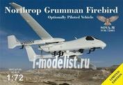 SVM72001 Sova-M 1/72 Northrop Grumman Firebird OPV with antennas and sensors